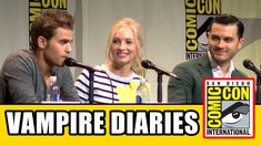 The Vampire Diaries Comic Con 2015 Panel - Ian Somerhalder, Paul Wesley, Kat Graham, Candace Accola, Michael Malarkey