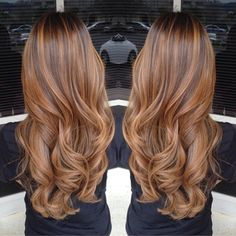 LOVE THE HAIR COLOR AND STYLE