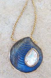 Pretty Shell Necklace! Great for summer!