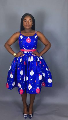 NEW IN: African print tea length dress,African clothing,wax print,wax print,dashiki African Dresses For Kids, African Inspired Fashion, Latest African Fashion Dresses, African Dresses For Women, African Print Fashion, African Attire, Ankara Fashion, African Print Dress Designs, Kente Dress