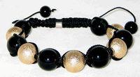 Fireball Macrame Disco Ball Bracelet [Fireball Macrame Disco Ball] - $66.00 : Shamballa Beads Bracelets, Shamballa Jewelry Online