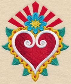 Machine Embroidery Designs at Embroidery Library! - Mexican Folk Art