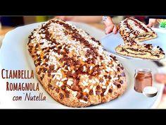 Ciambella Romagnola alla Nutella ricetta facile e veloce da colazione - YouTube Nutella, Beignets, Biscotti Cookies, Quick And Easy Breakfast, Donuts, Banana Bread, Breakfast Recipes, French Toast, Lunch