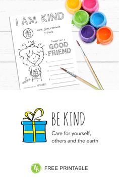 How to introduce kids to the happy habit of Being Kind Best Friend Activities, Small Acts Of Kindness, Activity Sheets, Help Kids, Colouring, Encouragement, Best Friends, Happiness, Feelings