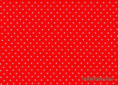 tiny dot red fabric