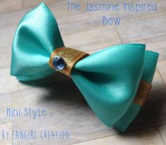 The Jasmine Inspired Bow by FangirlCreation on Etsy