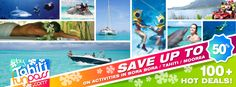 Follow us on Facebook and Google+ FB : TAHITI FUN PASS G+ : +Tahitifunpass