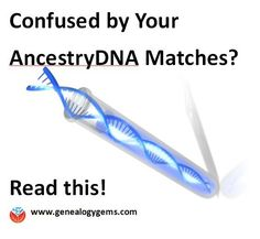 A fantastic explanation for anyone trying to understand their DNA matches, circles and New Ancestor Discoveries at AncestryDNA.