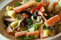 Turcos de cocina: verduras congeladas