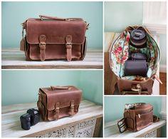 """PRESALE Vintage Brown, Genuine Leather Messenger the  """"Indie"""""""