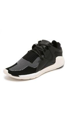 66f2c784953bf Y-3 Y-3 Boost QR Knit Sneakers