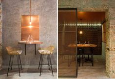 Un design restaurant tra stile industrial e lusso - Elle Decor Italia