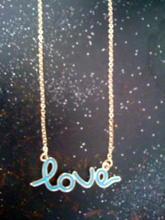 love necklace [available different color]
