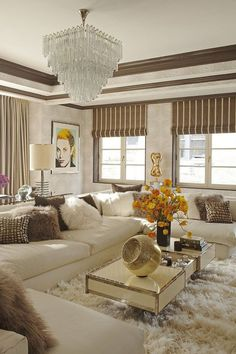 Glam Interior Design Inspiration to Take From Pinterest - How to Decorate Your Home Glamorously