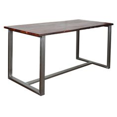 Table, Furniture, Home Decor, Industrial Style, Iron, Mesas, Wood, Homemade Home Decor, Home Furnishings