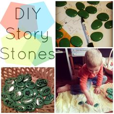 DIY story stones ideas