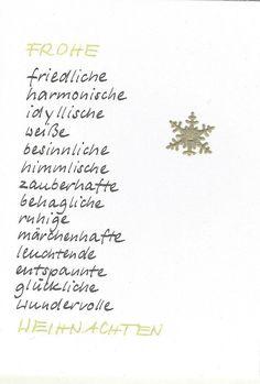 Christmas Card Writing - Xmas Ideas - Christmas – Snowflake Christmas Card – a unique product by … - Christmas Snowflakes, Winter Christmas, Christmas Time, Yule, Nouvel An, Christmas Inspiration, Xmas Ideas, Drops Design, Christmas Cards