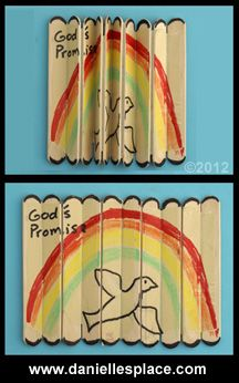 Books of the Bible Crafts and Games  - directions on www.daniellesplace.com