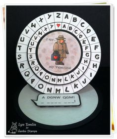 Spy digi stamp by Hambo Stamps -deigned by Lyn Tomlin