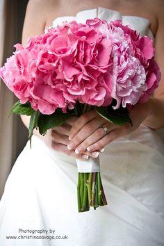 Hydrangea, Peony & Rose Bouquet
