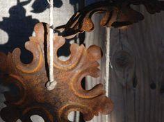 rusty snowflakes........