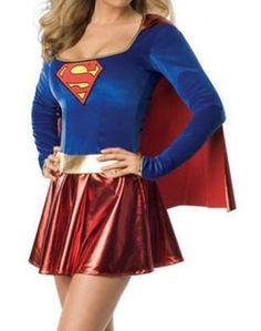 Adult Superhero Halloween Costume