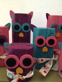 Whimsical Owls by grubbyprimitives on Etsy, $16.00