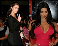 Celebrities' Looks – Kim Kardashian Best Hair Styles 2014 with Remy Human Hair Extensions long curls