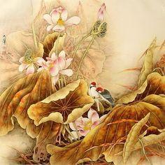 Lou Dahua chino Artista ~ Blog de un admirador del arte