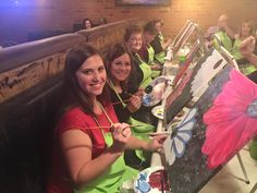 Paint Nite @PostStAleHouse every Monday night from 6-8PM
