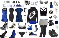 """Homestuck Fashion: Equius Zahhak"" by khainsaw on Polyvore"