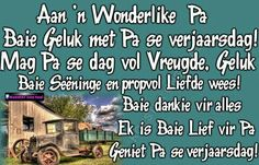 ♡ Baie Dankie, Birthday Wishes With Name, Afrikaans Quotes, Bunny Birthday, Dad Quotes, Happy Birthday Images, Happy B Day, Birthday Party Invitations, Christian Quotes