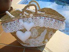 Hessian Bags, Diy Sac, Diy Clutch, Straw Handbags, Boho Bags, Creation Couture, Craft Bags, Fabric Bags, Purses And Bags