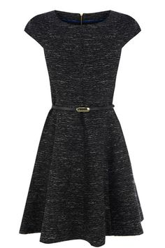 TILLY BOUCLE TWEED SKATER