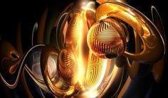 d abstraction ball digital art background hd wallpaper sperm