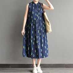 a charming floral dress
