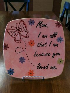A beautiful gift for Mom any time of the year! Made at Paint a Piece Commack