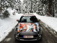 """MINI Cooper F56 - """"OXANA PRANTL Edition"""". You can order  different MINIs with my Design in MegaDenzel Vienna! Vienna, Minis, My Design, Cars, Vehicles, Autos, Automobile, Miniatures, Vehicle"""