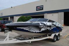 Boat Graphics Boat Wrap Custom Graphics Skinz Wraps - Boat decals custom graphics