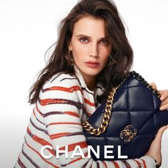 "CHANEL on Instagram: ""The CHANEL 19 bag — actress Marine Vacth stars in the latest campaign imagined by Sofia Coppola and photographed by Steven Meisel.…"""