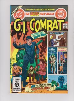 G.I. Combat 238 Joe Kubert Sam Glanzman --- RARE KEY Comic book | eBay