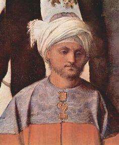 Giorgione: Die drei Philosophen, Detail