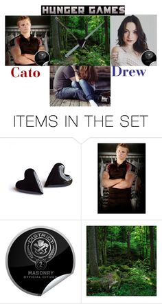 """""""Cato and Drew"""" by maxinehearts ❤ liked on Polyvore featuring art"""