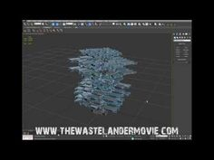 THE WASTELANDER MOVIE tutorial 2: creating rubble in 3ds max - YouTube