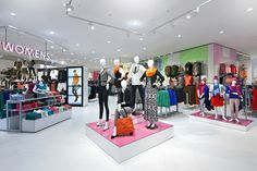 Twenty-four concept stores by Dalziel and Pow