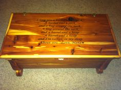 Hope Chest Diy