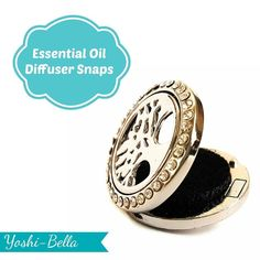 Start your week off right with the scent of Essential Oils.  Subtly carry the scent on an essential oil diffuser.  Easily swap out the diffuser for a custom design of your own image or choose from our carefully curated selection of stock snap medallions.  Perfect for our new line of Intentional jewelry.
