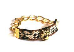 Leopard Print Bracelet by makunaima on Etsy, $21.90