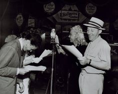 Frank Sinatra & Bing Crosby Broadcast A Radio Show From The Hollywood Canteen