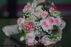 Pink Rose Bouquet, Pink Roses, Winter Bridal Bouquets, Unusual Flowers, Wedding Flowers, Dream Wedding, Floral Wreath, Table Decorations, Baby